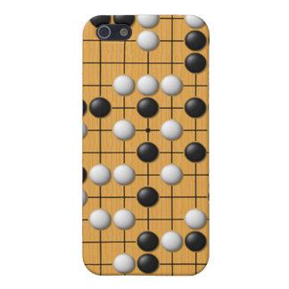 Juego de mesa asiático de Paduk/Baduk/Go para el i iPhone 5 Cárcasas