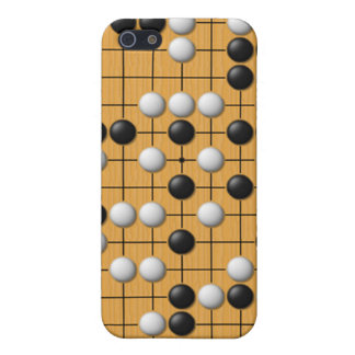 Juego de mesa asiático de Paduk/Baduk/Go para el i iPhone 5 Funda