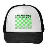 Juego de mesa del ajedrez gorro
