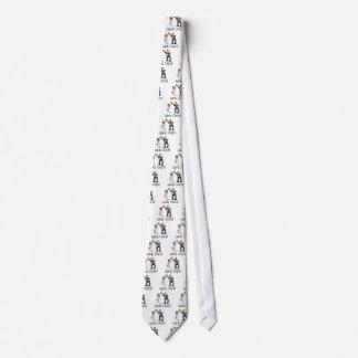 Juego de novia y del novio encima corbata personalizada