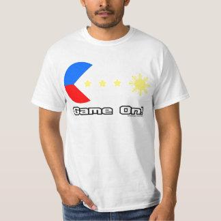 Juego de Pacquiao en la camisa