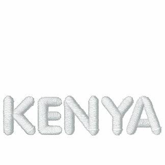 Juego de pista largo de la manga de Kenia Chaqueta De Entrenamiento