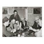 Juego de póker, 1939 postal