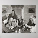 Juego de póker, 1939 póster