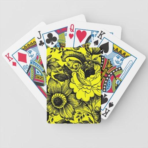 Juego de póker lamentable del arte gráfico de las  barajas de cartas