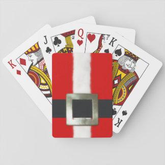 Juego de Santa de las Felices Navidad Baraja De Póquer