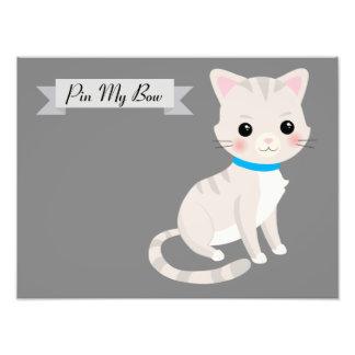 juego de sociedad del tema del gato cojinete