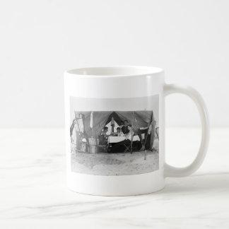 Juego de tarjeta de la playa de Rockaway 1910 Taza De Café
