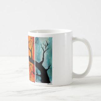 Juego de té de las estaciones taza clásica