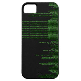 Juego de trabajo C del tic-TAC-dedo del pie++ iPhone 5 Funda
