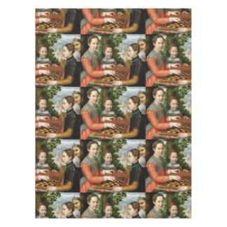 Juego del ajedrez de Sofonisba Anguissola - circa Manteles
