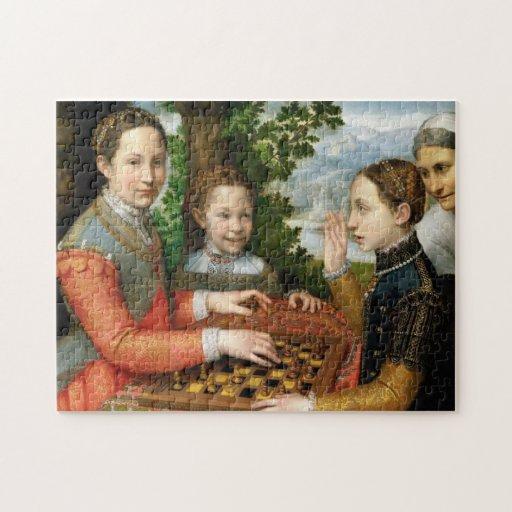 Juego del ajedrez de Sofonisba Anguissola - circa Puzzle
