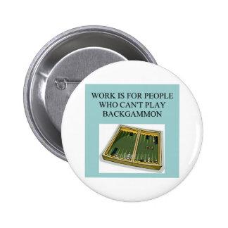 juego del backgammon pins
