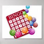 Juego del bingo poster