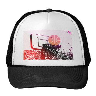 Juego del coche de la red del baloncesto de la gorra