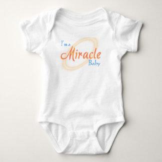 Juego del cuerpo del bebé del milagro camisas