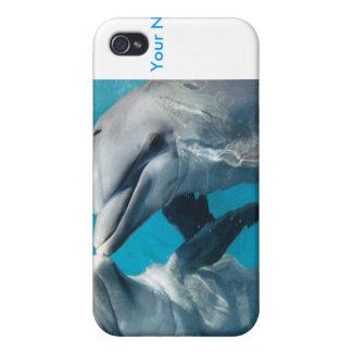 Juego del delfín iPhone 4/4S carcasa