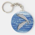 Juego del delfín llavero personalizado