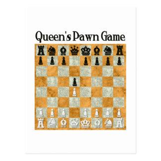 Juego del empeño de la reina postales