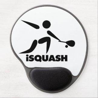 Juego del logotipo del iSquash de la calabaza Alfombrilla Gel