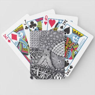 juego del modelo baraja de cartas bicycle