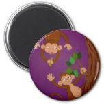 juego del mono imán de frigorifico