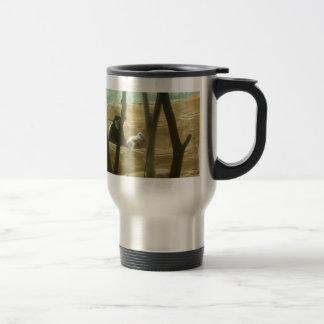 Juego del mono taza de café