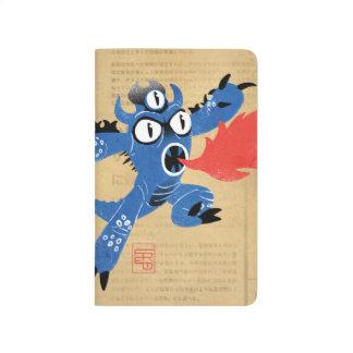 Juego del monstruo de Fred Cuaderno Grapado