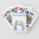 Juego del oso polar barajas de cartas