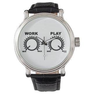Juego difícilmente relojes de pulsera