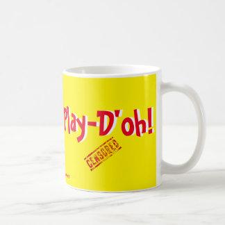 ¡Juego-D'oh! Taza Clásica