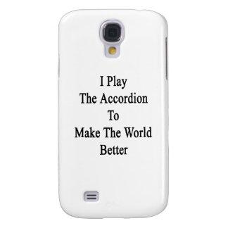 Juego el acordeón para hacer el mundo mejor