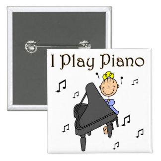 Juego el botón del piano pins