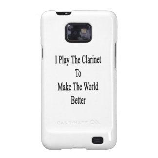Juego el Clarinet para hacer el mundo mejor