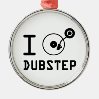 Juego el corazón Dubstep de Dubstep/I del amor de Adorno Navideño Redondo De Metal
