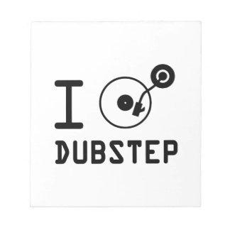 Juego el corazón Dubstep de Dubstep/I del amor de  Libretas Para Notas