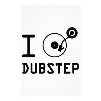 Juego el corazón Dubstep de Dubstep/I del amor de  Papelería De Diseño