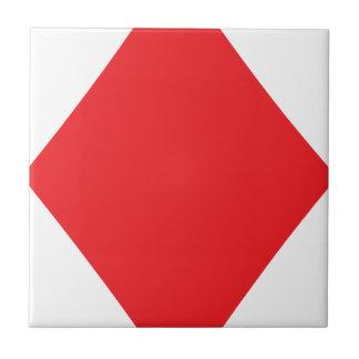 Juego el jugar de tarjeta del diamante del póker azulejo cerámica