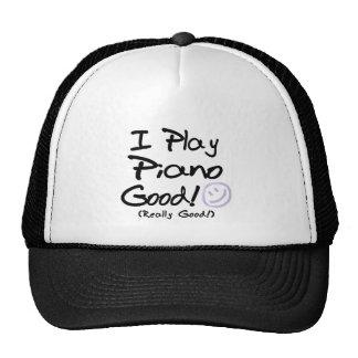 Juego el piano bueno gorra