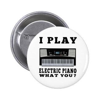 Juego el piano eléctrico pin redondo 5 cm