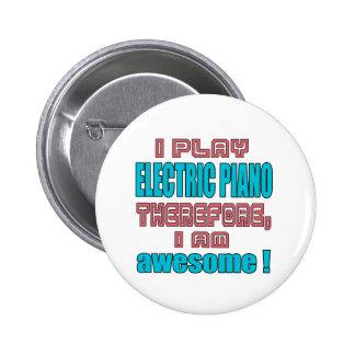 ¡Juego el piano eléctrico por lo tanto, yo soy Pin Redondo 5 Cm