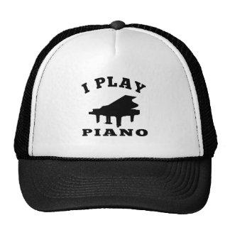 Juego el piano gorro