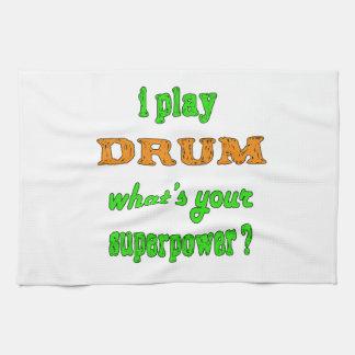 Juego el tambor toalla