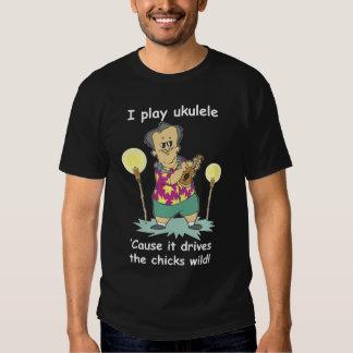 Juego el Ukulele… Playera
