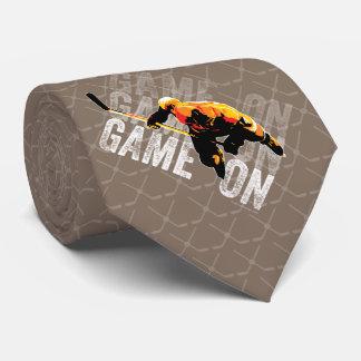 Juego en (hockey) corbata personalizada