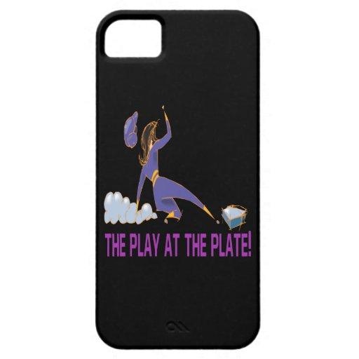 Juego en la placa iPhone 5 carcasas
