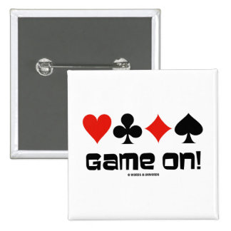 ¡Juego encendido! (Cuatro juegos de la tarjeta) Pins