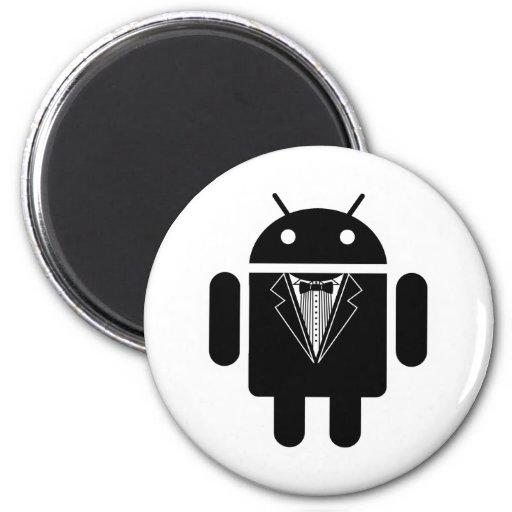 Juego encima del androide iman de nevera