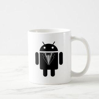 Juego encima del androide tazas