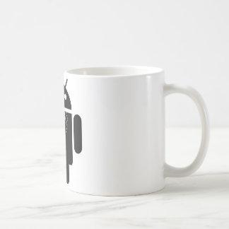 Juego encima del androide taza de café